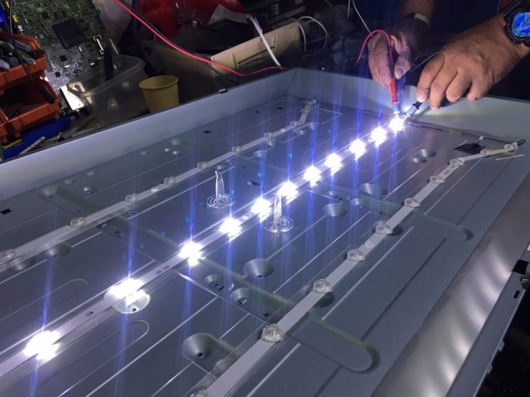 reparacion LED TV